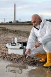 Studie der Umweltverschmutzung stockfotografie
