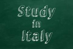Studie in Italien vektor abbildung