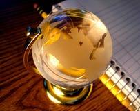 Studie rond de Wereld stock foto