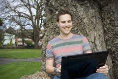 Studie und Netz-Grasen im Freien lizenzfreies stockfoto