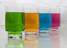 Studie von Farben lizenzfreie stockfotografie
