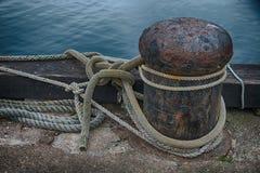 Studie von Marine Rope stockbild