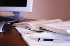 Studienbereich lizenzfreies stockbild