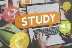 Studieonderwijs het Leren Verbetering Inzichtsconcept stock foto's