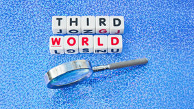 Studieren der Dritten Welt Stockbilder