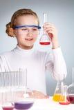 Studieren der Flüssigkeit lizenzfreie stockbilder