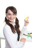 Studieren Sie Chemie Stockbild