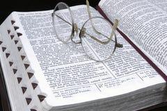 Studieren Sie die Schriften Lizenzfreies Stockbild