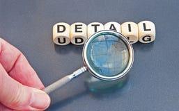 Studieren von Details Lizenzfreie Stockfotos