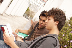 Studing at the school Stock Photo