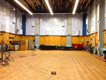 Studio 1, Abbey Road Studios, Londen stock afbeeldingen
