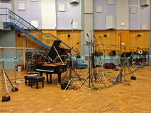Studio 1, Abbey Road Studios, London royalty free stock images
