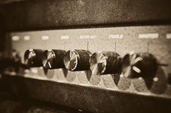 Studio amplifier Stock Photography