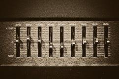 Studio amplifier stock photos