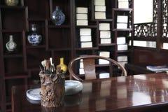 Studio antico cinese Immagini Stock