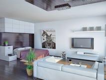 Studio apartment Stock Images