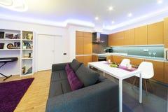 Studio apartment Royalty Free Stock Photography