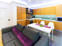 Studio apartment Royalty Free Stock Images
