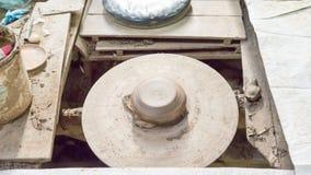 Studio asiatique de poterie Images libres de droits
