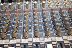 Studio audio mixer I Royalty Free Stock Photo