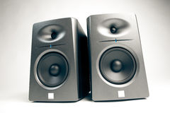 Studio audio monitors Stock Photo