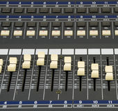 Studio-Aufnahme-Maßeinheit Stockfoto