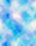 Studio-backdrop-10. Studio digital backdrop blue, light, white, turquoise, abstract, clouds, soft, muslin for photo background Stock Image