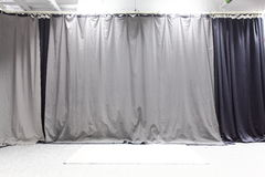 Studio backdrop. Cloth studio backdrop or background Stock Photo