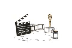 Studio Background of Film Royalty Free Stock Photography