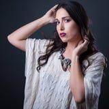 Studio brunette Royalty Free Stock Images