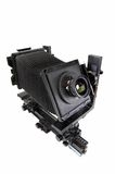 The studio camera for a sheet film Stock Photos