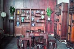 Studio cinese di stile tradizionale Fotografia Stock