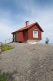 Studio on a cliff Grisslehamn Stock Photos