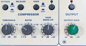 Studio Compressor Volume Stock Photo