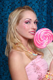 Studio Creative Candy Themed Shoot Royalty Free Stock Photo