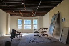 Studio 6 d'art Photographie stock libre de droits
