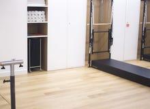 Studio de danse de pilates de barre Image libre de droits