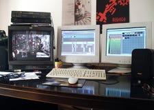 Studio de édition professionnel Image libre de droits