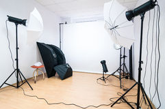 Studio de photo photo stock
