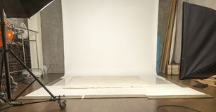 Studio de photographes Photo stock