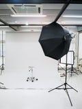 Studio de photographie Photo stock