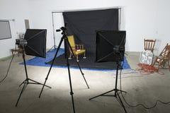 Studio de photographie Photos libres de droits