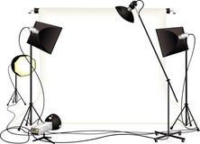 Studio de photographie Photographie stock