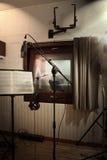 Studio de pièce d'enregistrement Images libres de droits