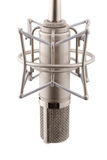 studio de proffecional de microphone Images stock