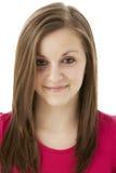 studio de sourire de verticale de fille d'adolescent Image stock