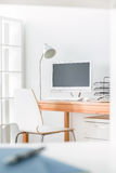 Studio de travail à la maison Images stock