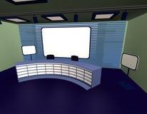 Studio de TV Photo libre de droits