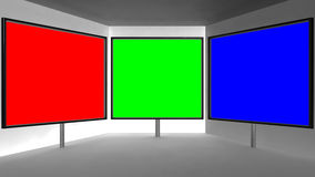 Studio de TV Photo stock