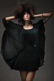 Studio de type de mode tiré d'une femme Images stock